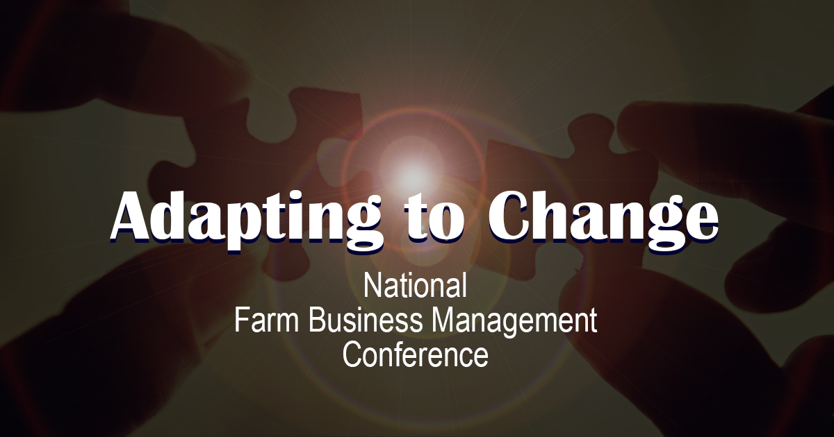 2016 National Farm Management Conference