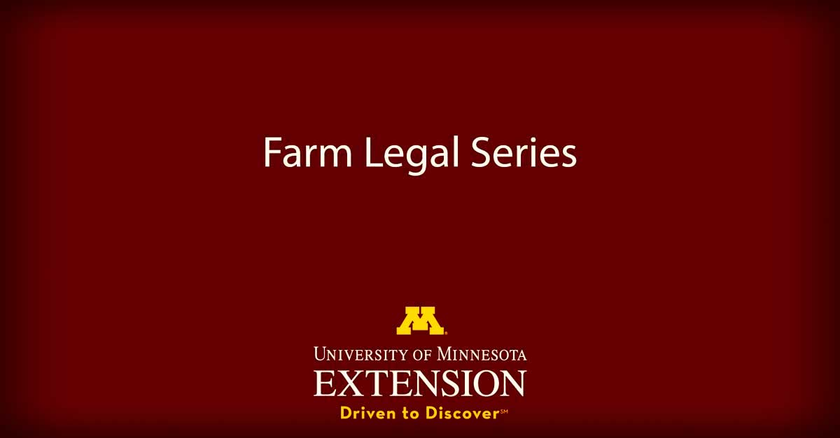 Farm Legal Series